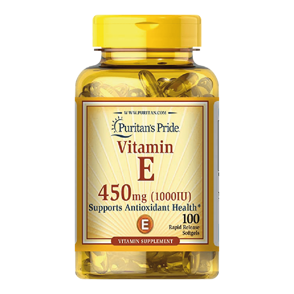 Vitamina E 450mg (1000IU)